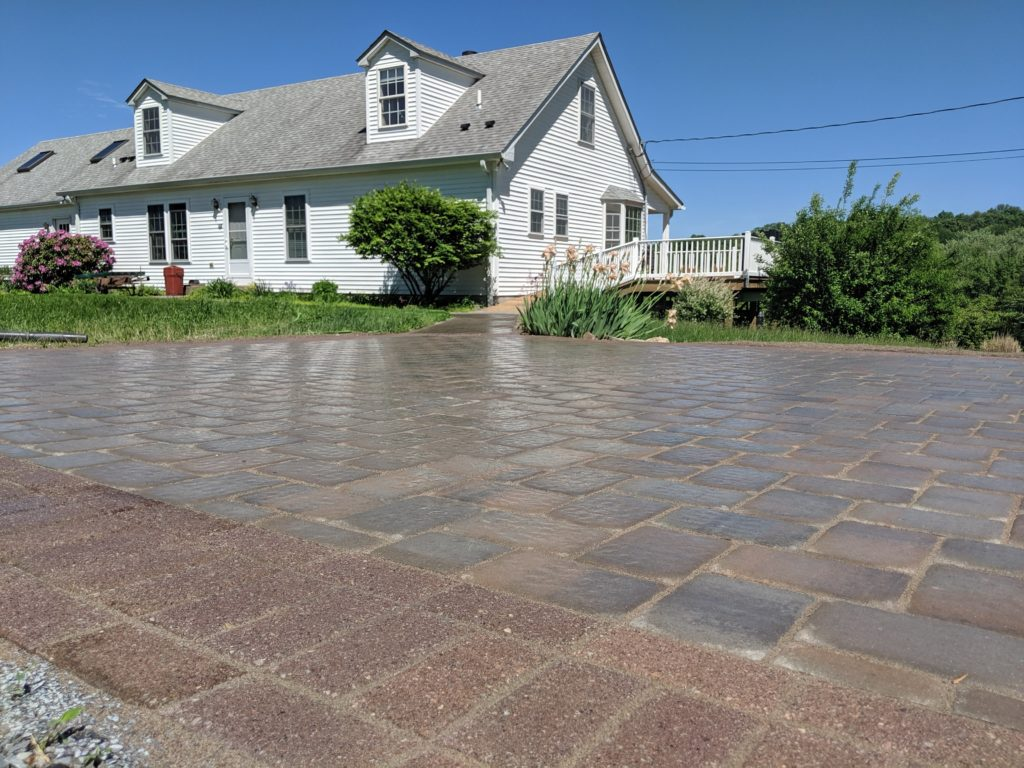 North Jersey paver installation